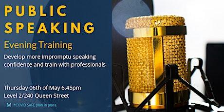 Public Speaking Evening Training tickets