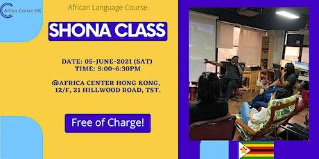 Shona Class tickets