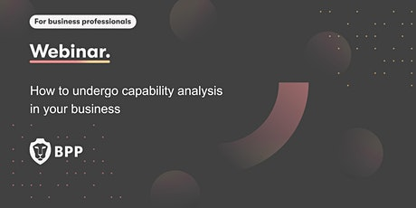 How to undergo capability analysis in your business tickets