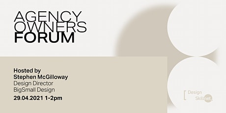 Agency Owners Forum - April 2021 tickets