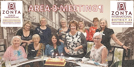 Zonta Area 3 Meeting May 2021 District 24 Tamworth tickets