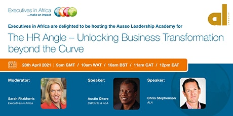 The HR Angle. Unlocking Business Transformation Beyond The Curve tickets