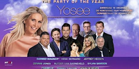 10 jaar Yosee tickets
