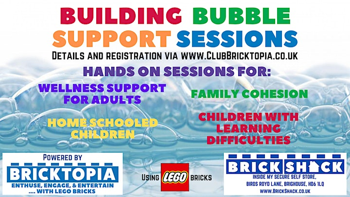 Building Bubble support sessions - April/May image