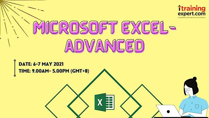 Microsoft Excel- Advanced image