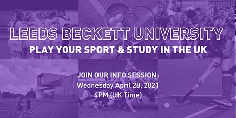 Leeds Beckett University Sports Info Session tickets