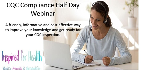 Care Quality Commission (CQC) Compliance Training - Half Day Course tickets