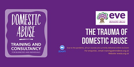 The Trauma of Domestic Abuse tickets