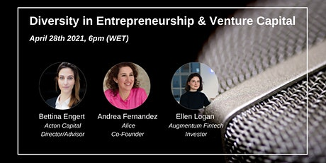 """Panel Discussion """"Diversity in Entrepreneurship & VC"""" tickets"""
