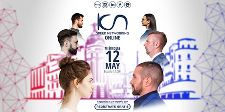 KCN Madrid Sur Speed Networking Online 12May entradas