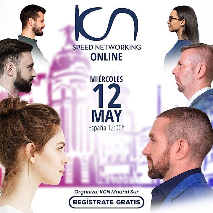 Imagen de KCN Madrid Sur Speed Networking Online 12May