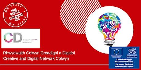 Rhwydwaith Creadigol a Digidol Colwyn /Creative and  Digital Colwyn Network tickets
