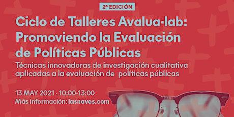 (2a ed ) Taller AVALUA·LAB: Técnicas Innovadoras investigación cualitativa entradas