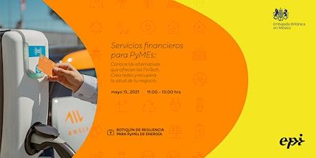 Servicios financieros para PyMEs boletos