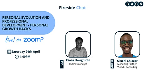 FIRESIDE CHAT: Personal Evolution & Professional Development tickets