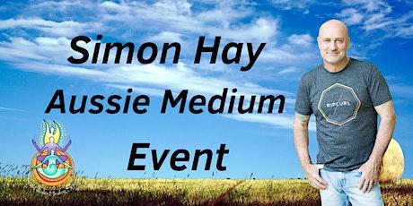 Aussie Medium, Simon Hay at the Armidale City Bowling Club tickets