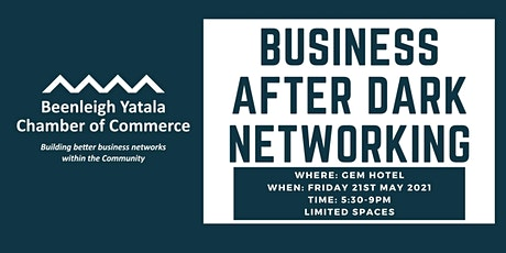 Business After Dark Networking at The Gem Hotel tickets