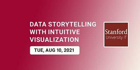 Online Data storytelling with intuitive visualization tickets