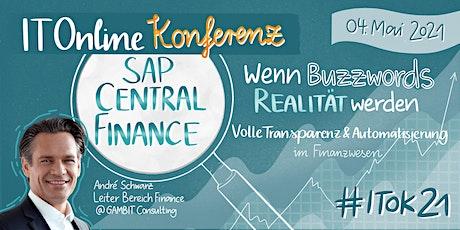 SAP Central Finance  - wenn Buzzwords Realität werden Tickets