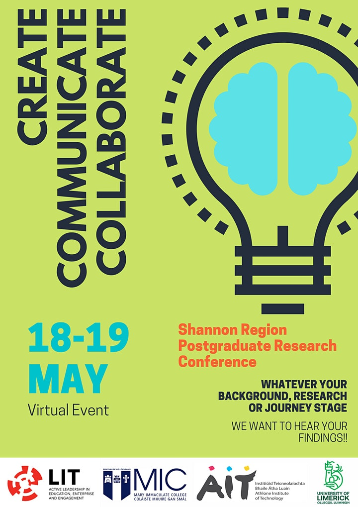 The Shannon Region Postgraduate Research Conference image