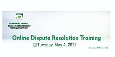 ONLINE DISPUTE RESOLUTION TRAINING tickets