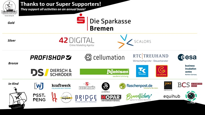 Bremen Startups  NetworKings & -Queens: Bild
