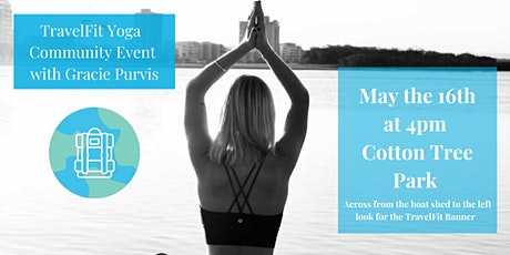 TravelFit Yoga Community Event With Gracie Purvis tickets