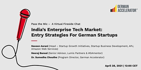 India's Enterprise Tech Market: Entry Strategies For German Startups tickets