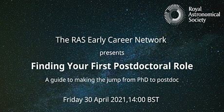 ECN Careers Event: Finding your first Postdoctoral Role - Non Fellows tickets