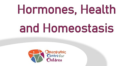 Hormones, Health and Homeostasis tickets