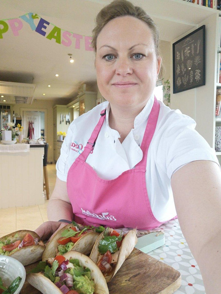 Mexican  Kitchen Cook-Along with East Coast Cookery School and Athy Library image