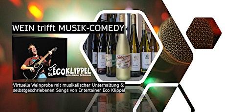Virtuelle Live-Weinprobe mit Musik-Comedian Dr. Eco Klippel Tickets