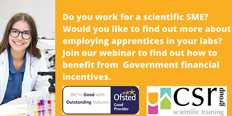 Laboratory Apprenticeships for Scientific SMEs tickets