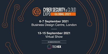 Cyber Security & Cloud Expo Global 2021| Virtual Conference ingressos