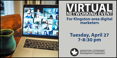 Virtual Networking Event - Kingston-area Digital Marketers tickets