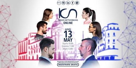 KCN Madrid Sureste Speed Networking Online 13May entradas