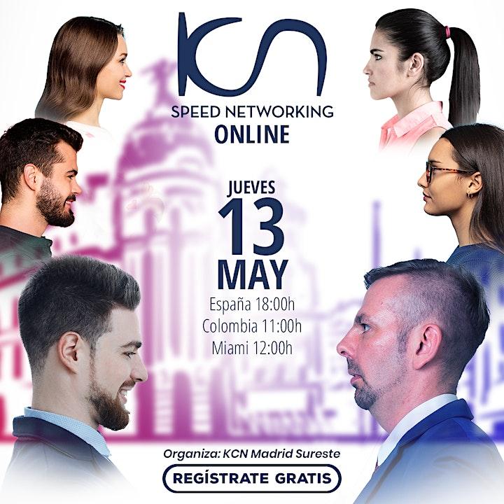 Imagen de KCN Madrid Sureste Speed Networking Online 13May