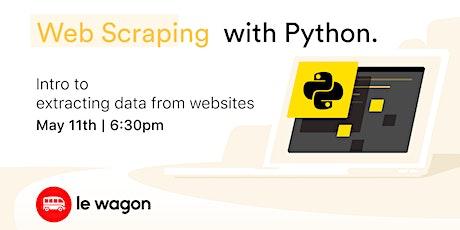 Web Scraping with Python entradas