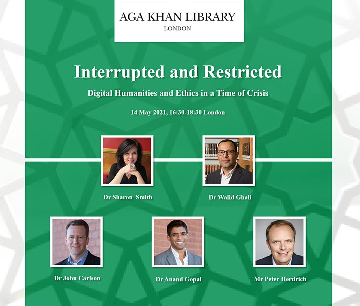 Interrupted & Restricted: Digital Humanities & Ethics in a Time of Crisis image