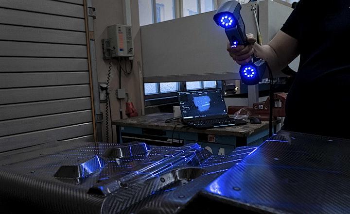 Image pour Webinar #13 : Métrologie industrielle avec le FreeScan UE