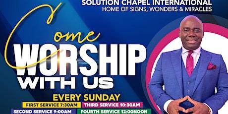 Sunday 2nd Service on ZOOM tickets