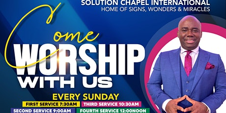 Sunday 3rd Service on ZOOM tickets