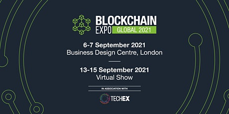 Blockchain Expo Global 2021| Virtual Conference tickets