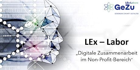 """LEx-Labor """"Digitale Zusammenarbeit im Non-Profit-Bereich"""" (Vier Sessions) Tickets"""