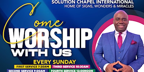 Sunday 4th Service on ZOOM tickets