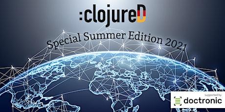 :clojureD  Conference 2021 entradas