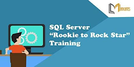 "SQL Server ""Rookie to Rock Star"" 2 Days Virtual Training in Kansas City, MO tickets"