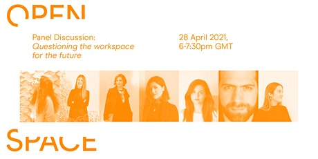Open Space Webinar: Questioning the workspace of the future tickets