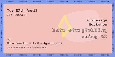 AIxDesign Workshop: Data Storytelling tickets