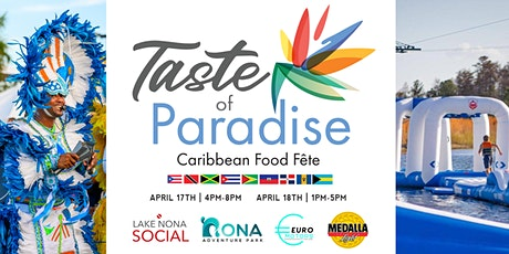 Taste of Paradise - Caribbean Food Fete tickets